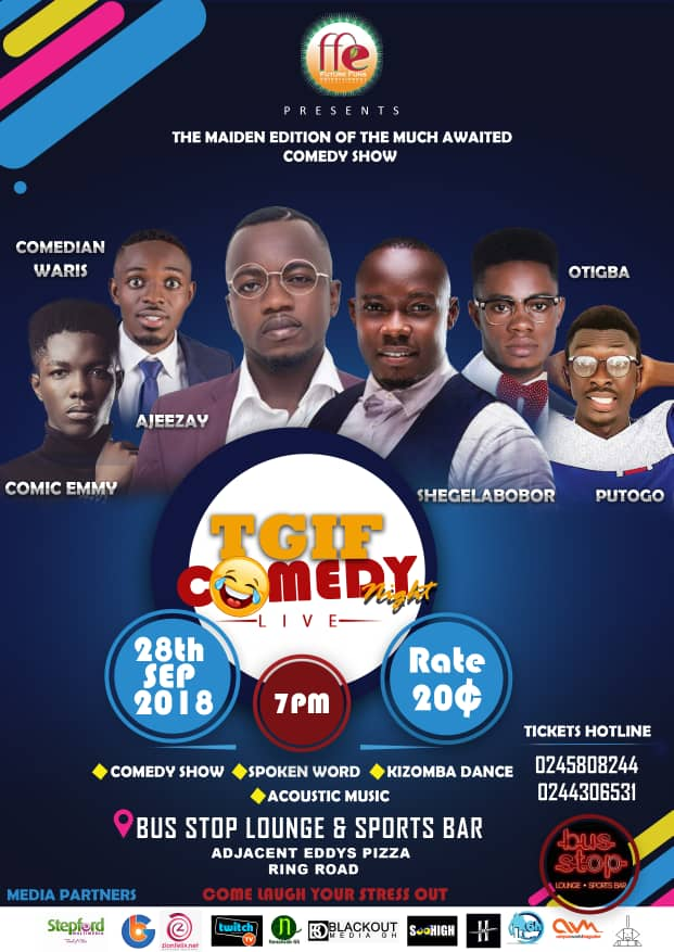 Ajeezay Headlines TGIF Comedy Night