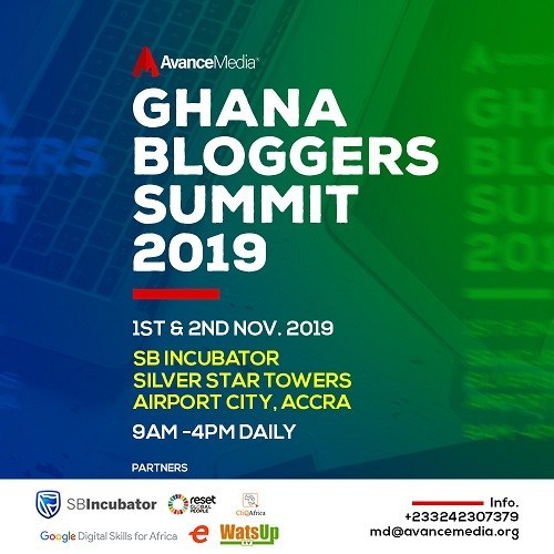 2019 Ghana Bloggers Summit Scheduled For 1st & 2nd November
