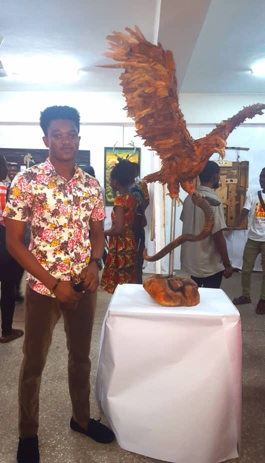 Meet 22 year Old Ken Kojo Adams Who Makes Sculptures Out Of Wood Wastes