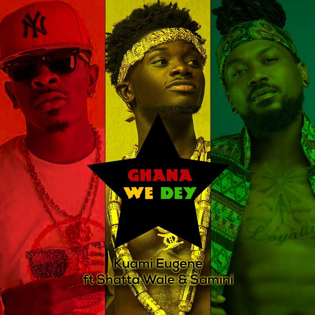 Kuami Eugene – Ghana We Dey Ft. Shatta Wale x Samini (Prod. By MOG Beatz)