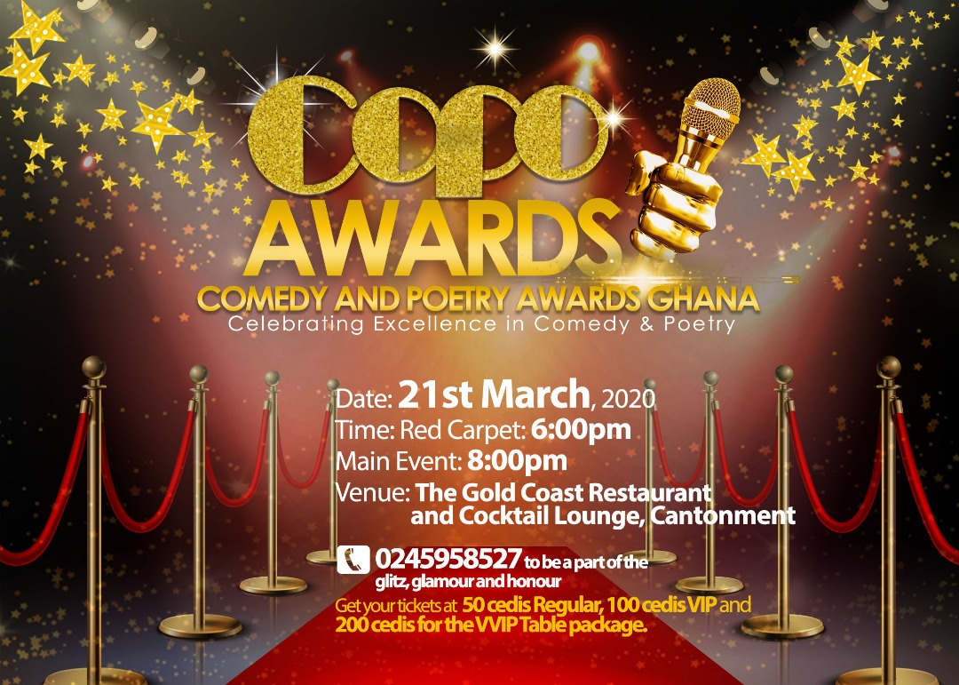 The Maiden Edition Of The Comedy And Poetry Awards Event