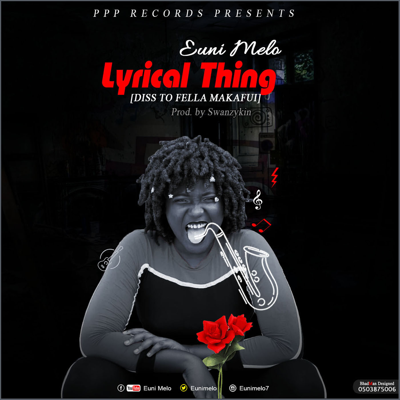 Euni Melo – Lyrical Thing (Fella Makafui Diss) Prod By Swanzykin
