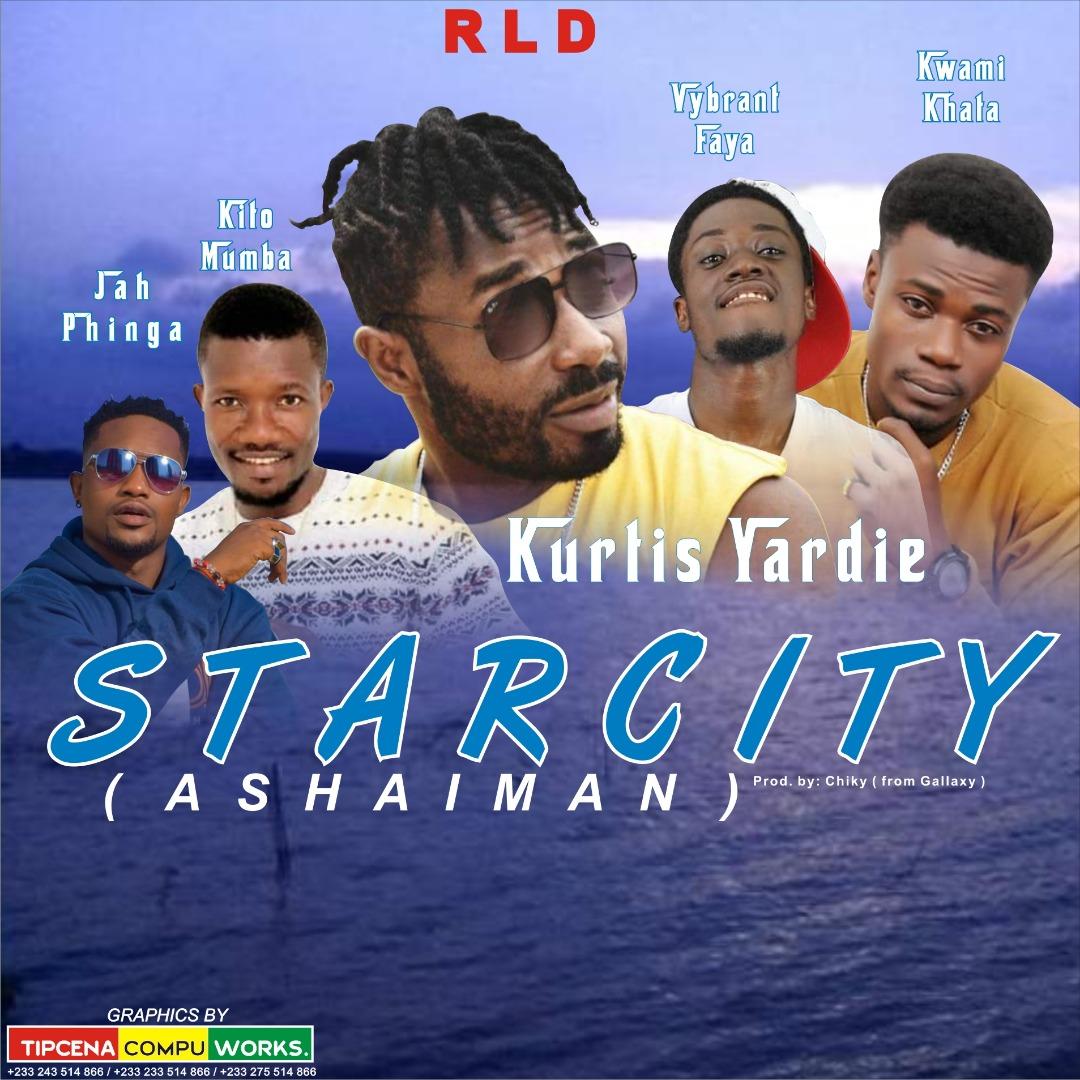 Kurtis Yardie Features Ashaiman Dancehall All stars in Starcity Song