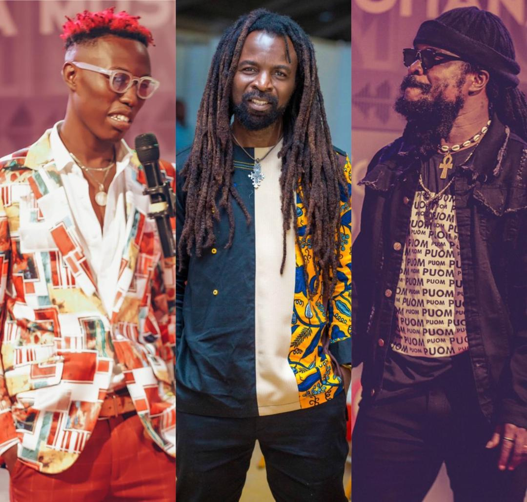 Rocky Dawuni Congratulates Ras Kuuku And J. Derobie On Their VGMA 2020 Wins
