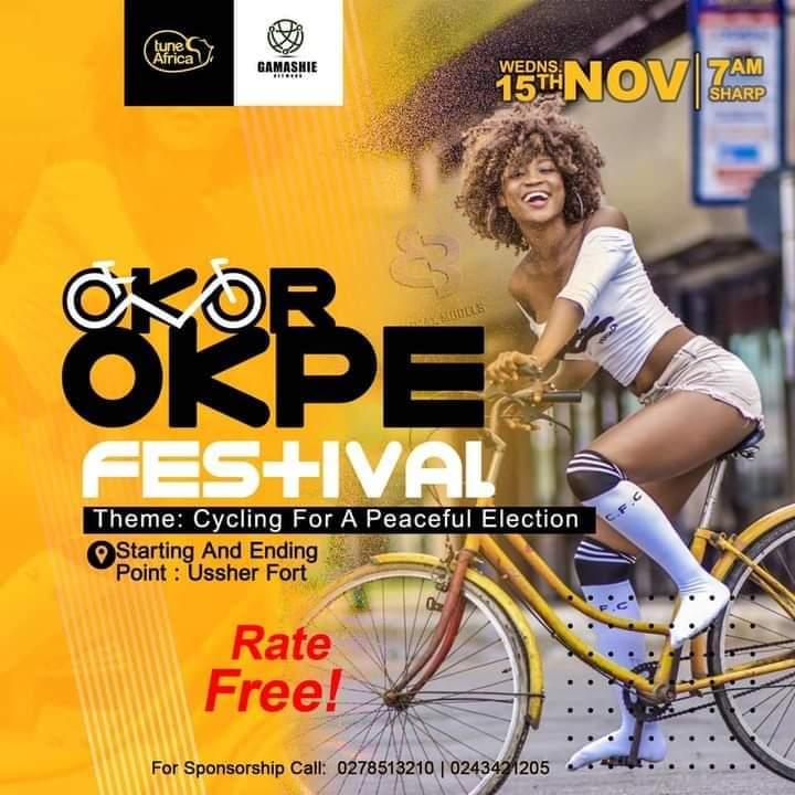 Cyclists Gear Up For 'Okor Okpe' Festival On Nov. 15