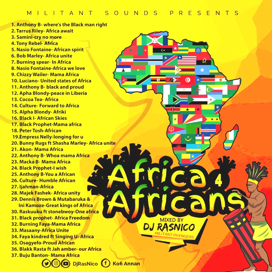 DJ RasNico drops Africa for Africans mixtape
