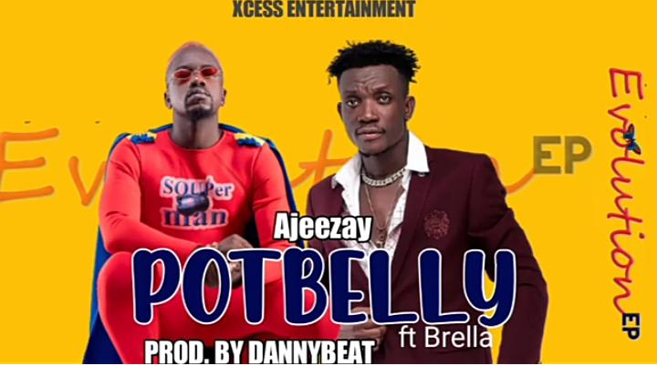 Ajeezay – Potbelly (feat Brella) (Prod by Danny Beatz)