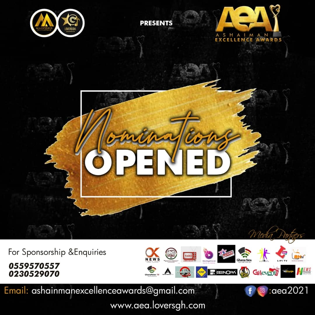 Nominations Open for Ashaiman Excellence Awards21 . Visit to File