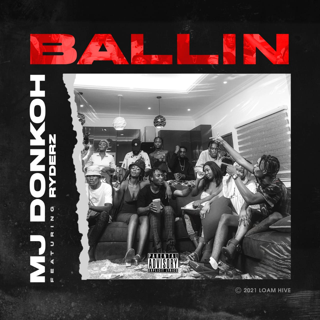 MJ Donkoh – Ballin (Official Video) ft. Ryderz