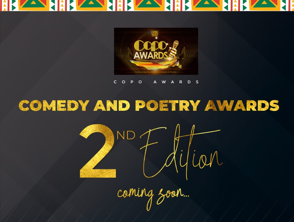 Nominations For 2nd Edition Of The Comedy And Poetry Awards Opens 1st June