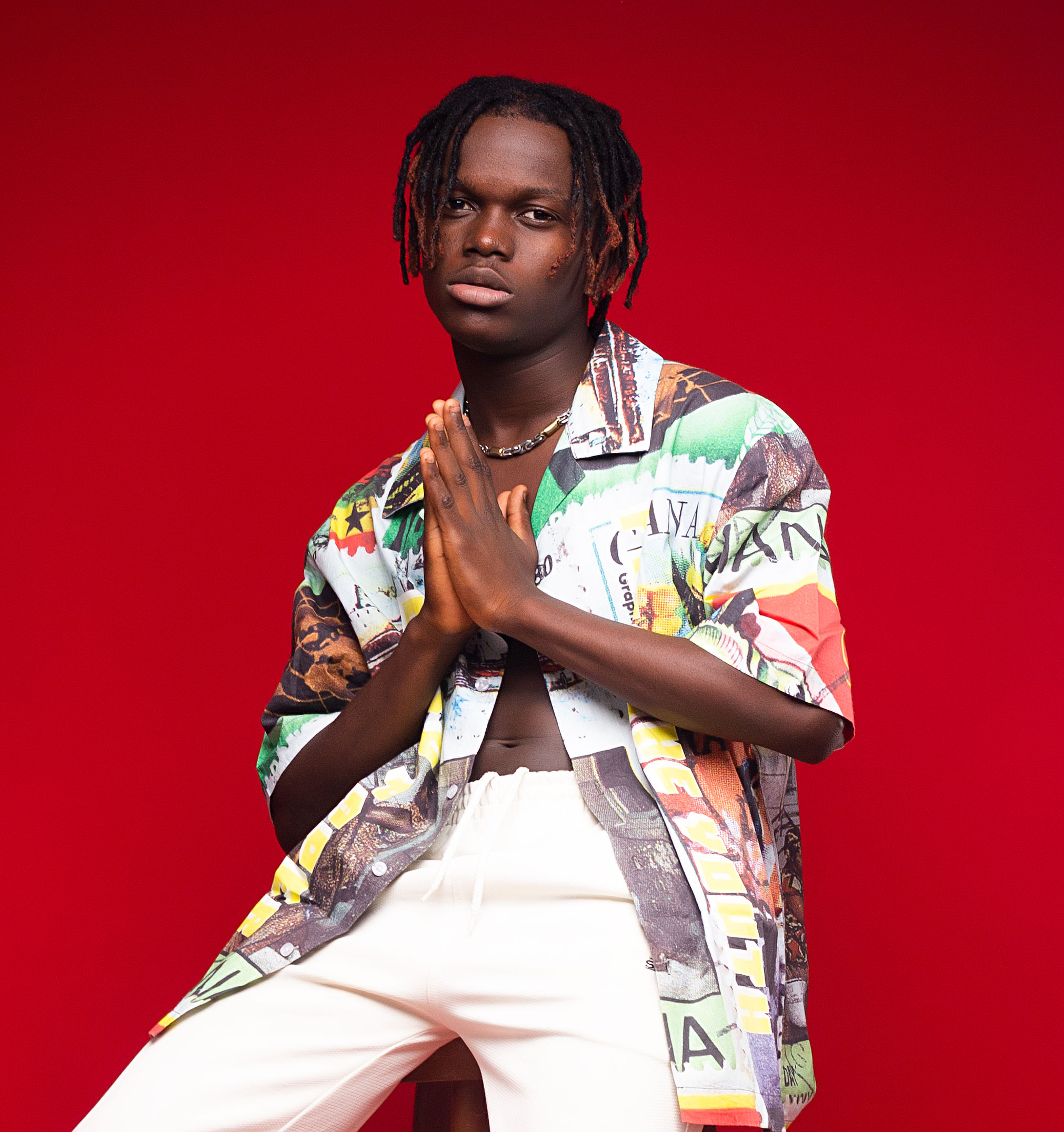 New Afrobeats Singer, KOJO BLAK Joins Larruso At Jadon Shatta Entertainment